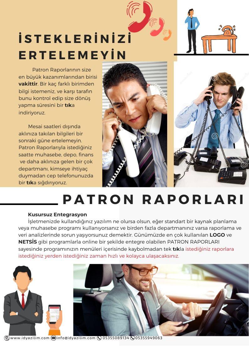 Patron Raporları